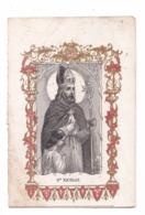Saint Nicolas, Gravure - Devotieprenten