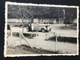 001 Old Photo. Vintage /Old Car,cars/Automobile/Woman Size 5 Cm/ 8 Cm - Coches