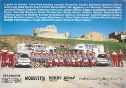 CARTE CYCLISME GROUPE TEAM REFIN 1997 - Cycling