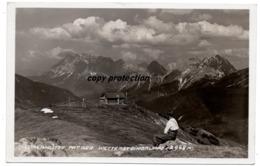 Loreahütte Mit Der Wettersteingruppe, Stempel Nassereith, Alte Foto Postkarte 1938 - Imst