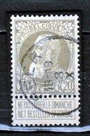 Nr 75 Gestempeld Peer Coba 8 - 1905 Grosse Barbe
