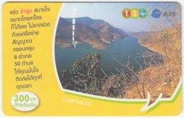 THAILAND B-443 Prepaid 1-2-call/AIS - Landscape, Lake - Used - Thailand