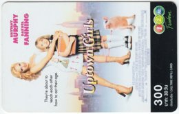 THAILAND B-460 Prepaid 1-2-call/AIS - Cinema, Uptown Girls - Used - Thailand