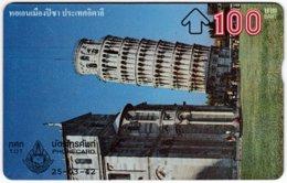 THAILAND F-206 Hologram TOT - Landmark Of Italy - 903B - Used - Thailand