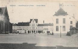 TURNHOUT.-GRAND PLACE ET LA POSTE.-GROOTE MARKT. - Turnhout