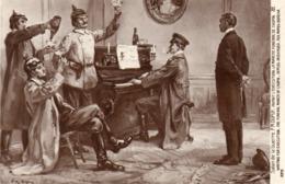 Salon De Guerre P.M. Dupuy Avant L'exécution La Marche Funébre De Chopin - Altri