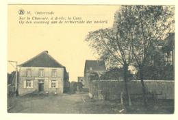 A0167[Postkaart] Onkerzeele Sur La Chaussée à Droite La Cure Op Den Steenweg Onkerzele In 't Pannenhuis Geraardsbergen - Geraardsbergen