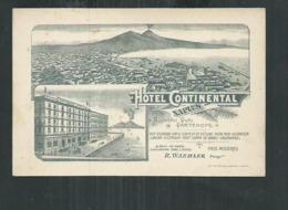 Italie. Hotel Continental Naples - Napoli (Napels)