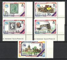 BELIZE 1984  AUSIPEX SET MNH - Belize (1973-...)