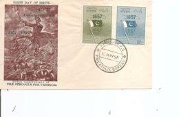 Pakistan ( FDC De 1957 à Voir) - Pakistan