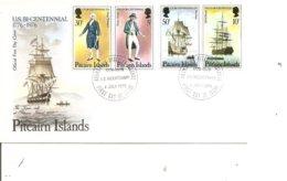 Indépendance USA ( FDC De Pitcairn De 1976 à Voir) - Unabhängigkeit USA