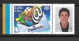 TIMBRES PERSONNALISES DE 2000 No 3365A - France
