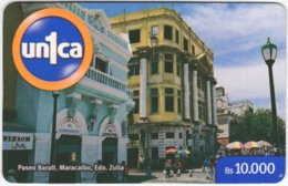 VENEZUELA A-978 Prepaid Un1ca - Historic Architecture, Building - Used - Venezuela