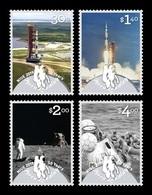 Niue 2019 Mih. 1316/19 Space. Apollo 11. Moon Landing MNH ** - Niue