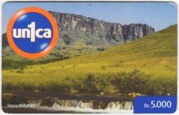 VENEZUELA A-994 Prepaid Un1ca - Landscape, Mountain - Used - Venezuela