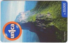 VENEZUELA A-998 Prepaid Un1ca - Landscape, Mountain - Used - Venezuela