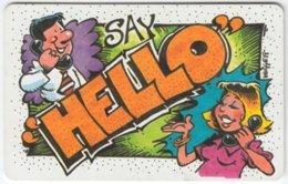 SOUTH AFRICA A-457 Chip Telkom - Cartoon, Communication, Telephone - Used - Zuid-Afrika