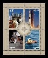 Tokelau 2019 Mih. 539/42 (Bl.75) Space. Apollo 11. Moon Landing MNH ** - Tokelau