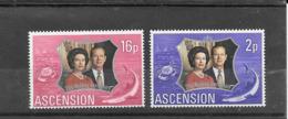 ASCENSION Sc 164 Et 164 Silver Wedding Issue, 1972 - Ascension (Ile De L')