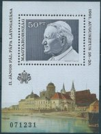 B3932 Hungary Personality Pope Religion Architecture S/S MNH - Blocks & Kleinbögen