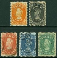 1867 Chile Colon 5v. - Chili