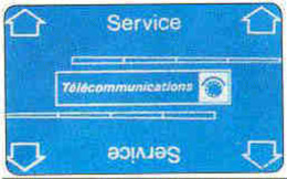 FRANCE : A19 240 U SERVICE Card Blue MINT   (x) - France