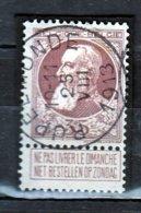 Nr 77 Gestempeld Rupelmonde  Coba 8 - 1905 Grosse Barbe