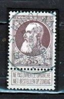 Nr 77 Gestempeld St Nicolaas B - 1905 Grosse Barbe