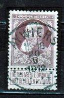 Nr 77 Gestempeld Aywiers  Coba 30 - 1905 Grosse Barbe