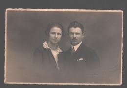 Koppel / Couple - Carte Photo Originale / Photo Card - Stempel Fotograaf - Couples