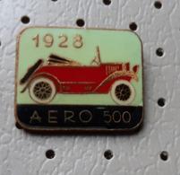 AERO 500 Car 1928 Vintage Oldtimer  Pin - Pins