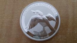 OISEAU KOOKABURA 2011 - AUSTRALIE - 1 Dollar - 1 Once D'argent - Victoria