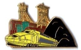 TGV POSTAL - T301 - MINES DE CHARBON - Verso : BALLARD - TGV