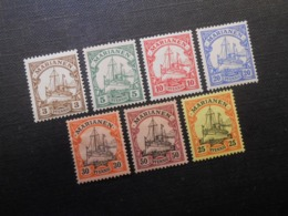 D.R.Mi 7-12/ 14*MLH - Deutsche Kolonien ( Marianen ) 1901 - Mi 11,80 € - Colony: Mariana Islands