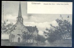 Cpa Du Luxembourg Echternach  Chapelle Ste Croix Heilig Kreuz Kapelle Luxemburg   LZ83 - Echternach