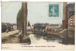 LA FERTE BERNARD - Vue Sur L'Huisne - Pont Guyot - La Ferte Bernard