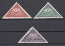 VR China 1951 Friedensaube Mi.-Nr. 113-115 II Gest.  China C10 Set MNH - Cina