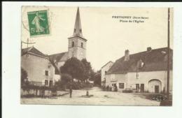 70 - Haute Saone - Frétigney - Place De L'église - Commerce - Animée - - Autres Communes