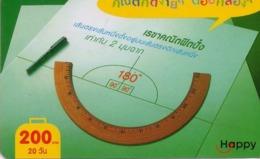 TAILANDIA. Happy Science, Math., Thai Letters. 119. 03/2008. TH-Happy-0455-A1. (029) - Tailandia