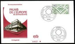 07668) BRD - Mi 921 - FDC - 140Pf                   Europarat - [7] República Federal
