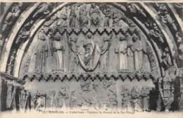 18 - BOURGES - Cathédrale - Tympan Du Portail De La Ste-Vierge - Bourges