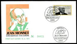 07669) BRD - Mi 926 - FDC - 50Pf             Jean Monnet - [7] República Federal