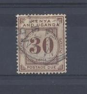 "K.U.T....KING GEORGE V.(1910-36)..."" POSTAGE DUE ""....30c....SGD4......VFU.. - Kenya & Uganda"