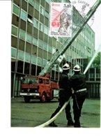 MAXIMUM CARD FRANCE Pompiers Bomberos - Cartes-Maximum