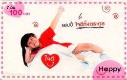 TAILANDIA. Red. 112. 06/2008. TH-Happy-0677-B. (031) REVERSO DIFERENTE - Tailandia