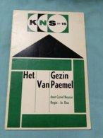 Het Gezin Van Paemel, Cyriel Buysse; Brochure Bij Theatervoorstelling Door KNS, 1965; In Regie Van Jo Dua. - Théâtre
