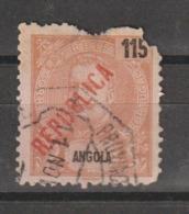 ANGOLA CE AFINSA NÃO EMITIDO 10 - USADO COM DEFEITO - Angola