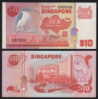 SINGAPUR - SINGAPORE 10 Dollars (1976) Pick 11 UNC (1)   (16163 - Banconote