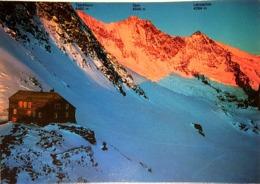 "Blick Von Plattjen Saas-Fee, VALAIS, Suisse, Année 70"" Vierge - VS Valais"