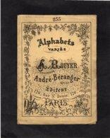Broderie - Alphabets Variés De A. Rouyer - André Béranger Succr.. - Dépliant - N°255 - Cross Stitch